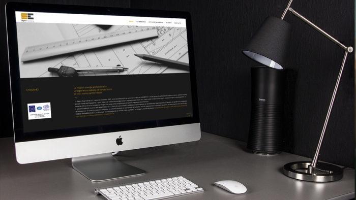 Sito Web Sigeco Engineering | Sans Serif Studio - Studio di grafica e comunicazione integrata in Calabria