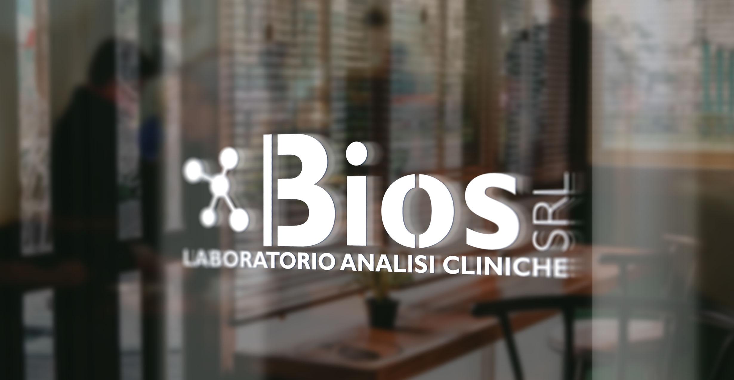 Logo Laboratorio Bios | Sans Serif Studio - Studio di grafica e comunicazione integrata in Calabria