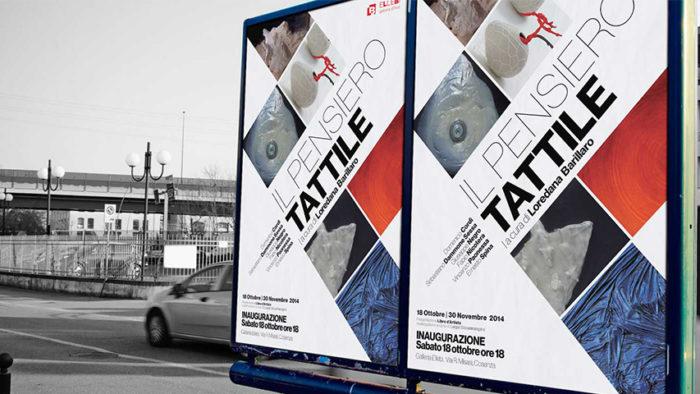 Manifesto per Galleria Ellebi | Sans Serif Studio - Studio di grafica e comunicazione integrata in Calabria